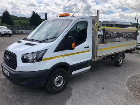 FORD TRANSIT Dropside L3 euro 6 14ft body 2.0tdci